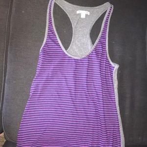 Adorable purple tank top